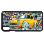 Koolart Stickerbomb & Licensed Retro Anglia Super 105e Car Image Mobile Phone Case Cover Fits iPhone